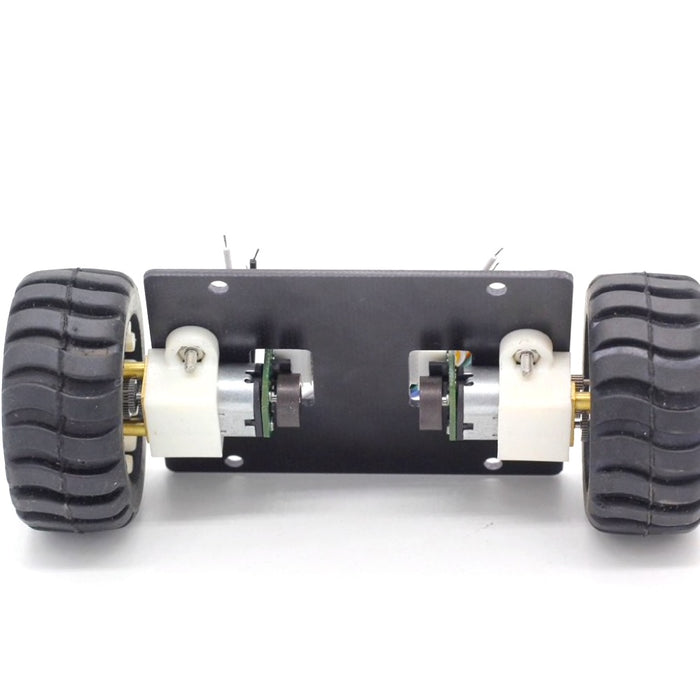 Mini Self-Balancing 2WD Robot Chassis with N20 Encoder Motors - ThinkRobotics.in