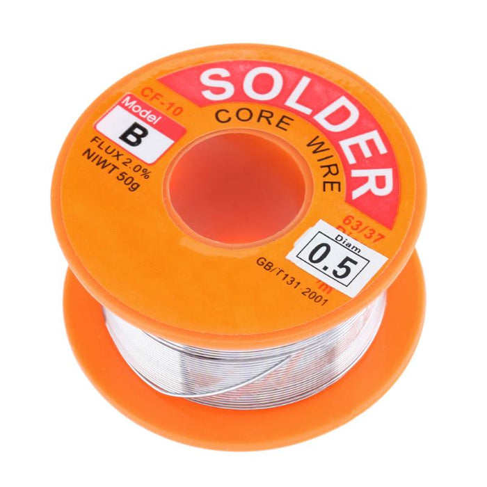 Solder Wire 0.8mm 50 gm - ThinkRobotics.in