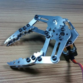 Mechanical Claw for Robot Arm with MG996R Servo - ThinkRobotics.in