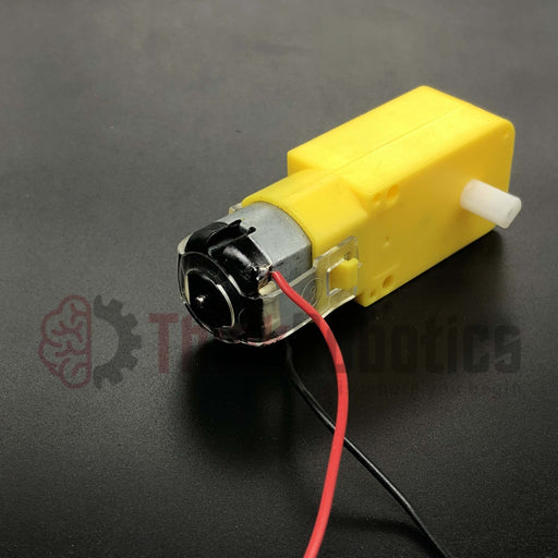 Mini Smart Car Gearmotor - ThinkRobotics.in