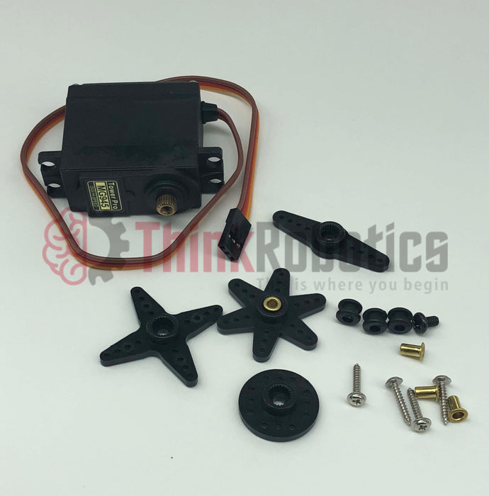 Standard Metal Servo (MG945) - ThinkRobotics.in