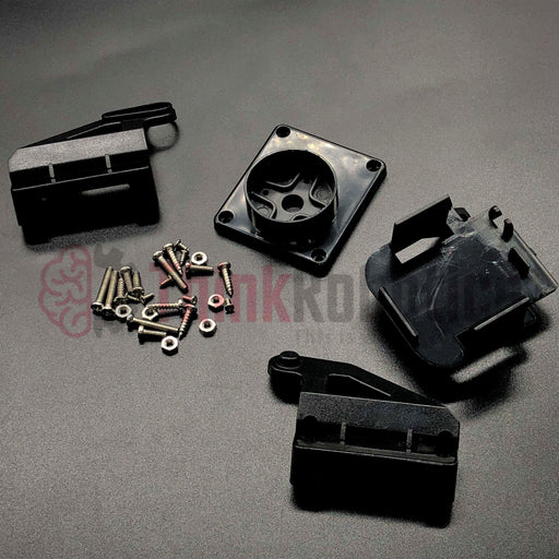 2-Axis FPV Nylon Pan-Tilt Kit for SG90/MG90S Servo - ThinkRobotics.in