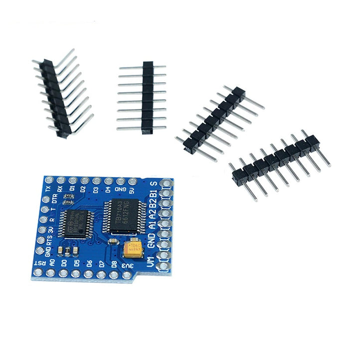TB6612FNG - Dual Motor Driver Carrier - ThinkRobotics.in