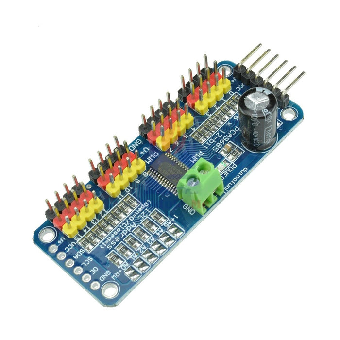 PCA9685 16-Channel PWM Driver - ThinkRobotics.in