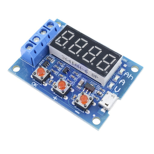 18650 Li-ion Lithium Battery Capacity Tester 1.2V 12V - ThinkRobotics.in