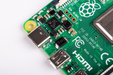 Raspberry Pi 4 Model B with 1 GB/ 2 GB/ 4 GB RAM - ThinkRobotics.in