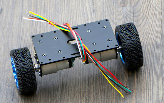 Self-Balancing 2WD Robot Chassis - ThinkRobotics.in