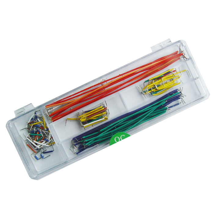 Breadboard Jumper Cable Wires Kit - ThinkRobotics.in