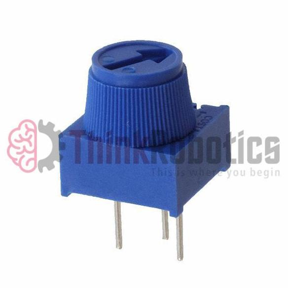 Precision Adjustable Potentiometer (3386P) - ThinkRobotics.in