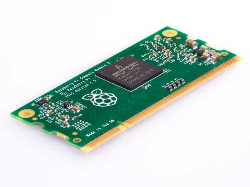 Raspberry Pi Compute Module 3 Lite - ThinkRobotics.in