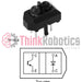 TCRT5000L Reflective Optical Sensor with Transistor Output (Pack of 4) - ThinkRobotics.in