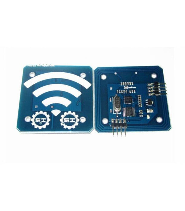RC522 RFID Reader Module Serial 13.56 MHz - ThinkRobotics.in