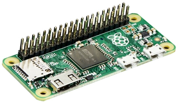 Raspberry Pi Zero with Header Pins - ThinkRobotics.in