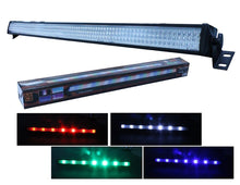 "Load image into Gallery viewer, MR DJ THE STRIP 42"" 252 LED 5 Channel DMX RGBW Color Strip DJ Wall Wash Bar Light  DJ Club Decor Party Disco Stage"