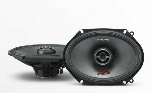 "Alpine SPR-68 6x8"" Coaxial 2-Way Speaker Set (Pair)"