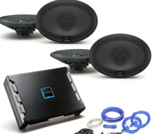 Load image into Gallery viewer, Alpine PDR-F50 Amp, Type-R R-S69 6x9 Coaxial Speakers Includes wire kit