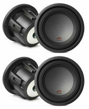"Load image into Gallery viewer, 2 Alpine R-W10D4 Car Subwoofer<BR/>2250W Max, 750W RMS 10"" R-Series Dual 4-Ohm Car Subwoofer"