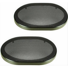 "Load image into Gallery viewer, (2) Absolute 5""x7"" / 6""x8"" SPEAKER COAXIAL COMPONENT PROTECTIVE GRILLS COVERS"