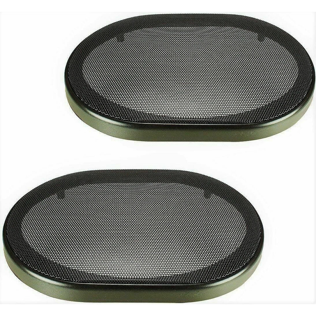 "2 XP Audio 5""x7"" / 6""x8"" universal speaker coaxial component protective grills covers"