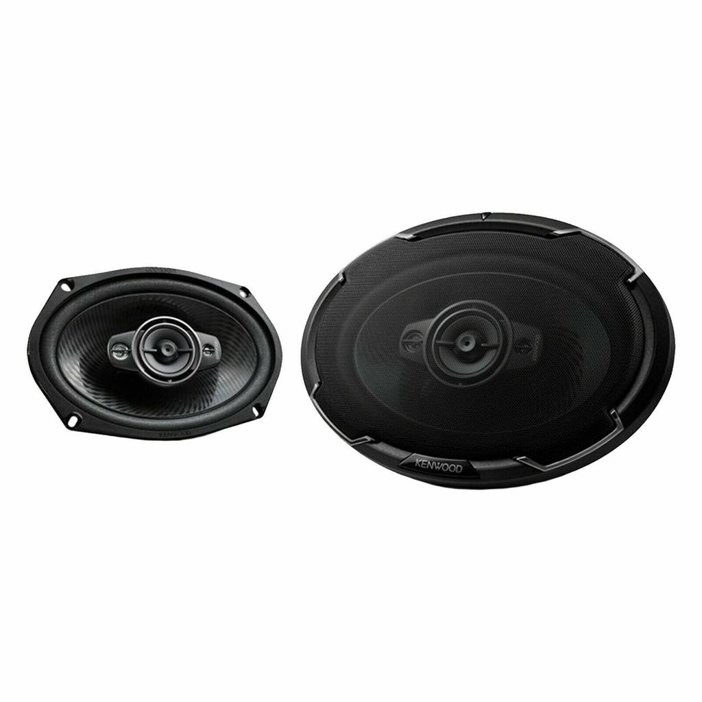 "Kenwood KFC6986PS 6x9"" Oval 4-Way 600 Watts Peak Power Speakers"