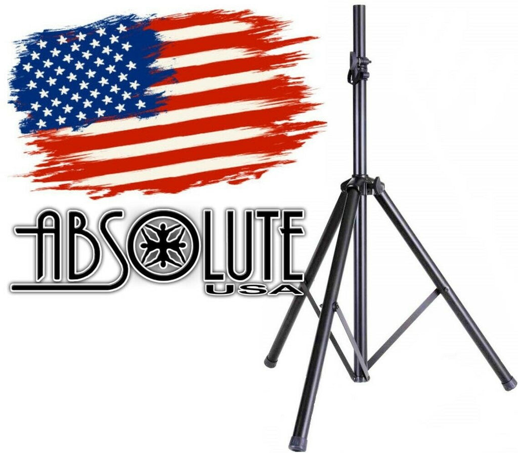 Absolute DJ Speaker Stand Tripod FoldOut Load Capacity 100LB Maximum Height 72""