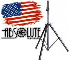 Load image into Gallery viewer, Absolute DJ Speaker Stand Tripod FoldOut Load Capacity 100LB Maximum Height 72""