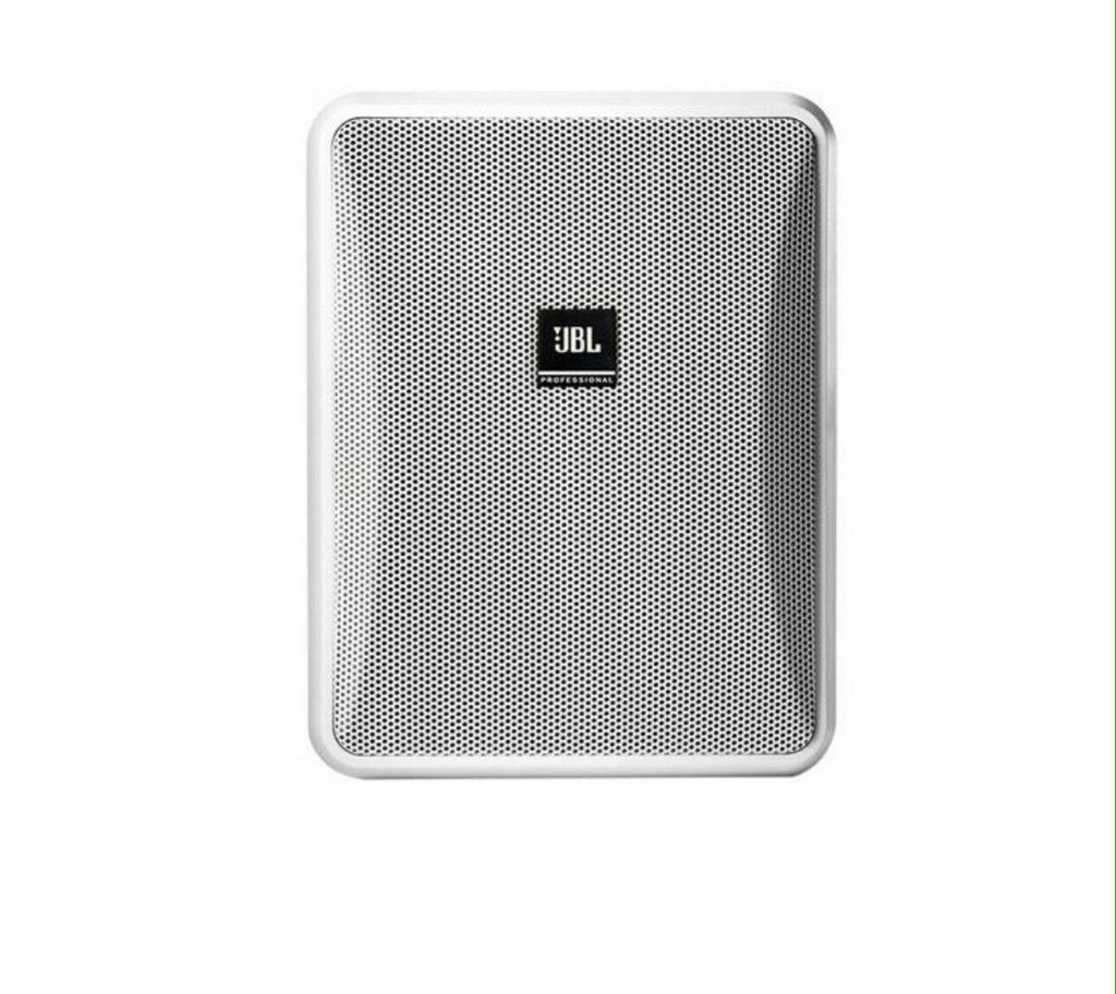 JBL Pro Control 25-1 Compact Indoor/Outdoor White Speaker Pair