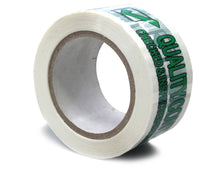 "Load image into Gallery viewer, 4 Rolls 3MIL Printed Quality Control Checked & Inspected by Mfg. In the USA TAPE 2.5"" X 110 YARD"