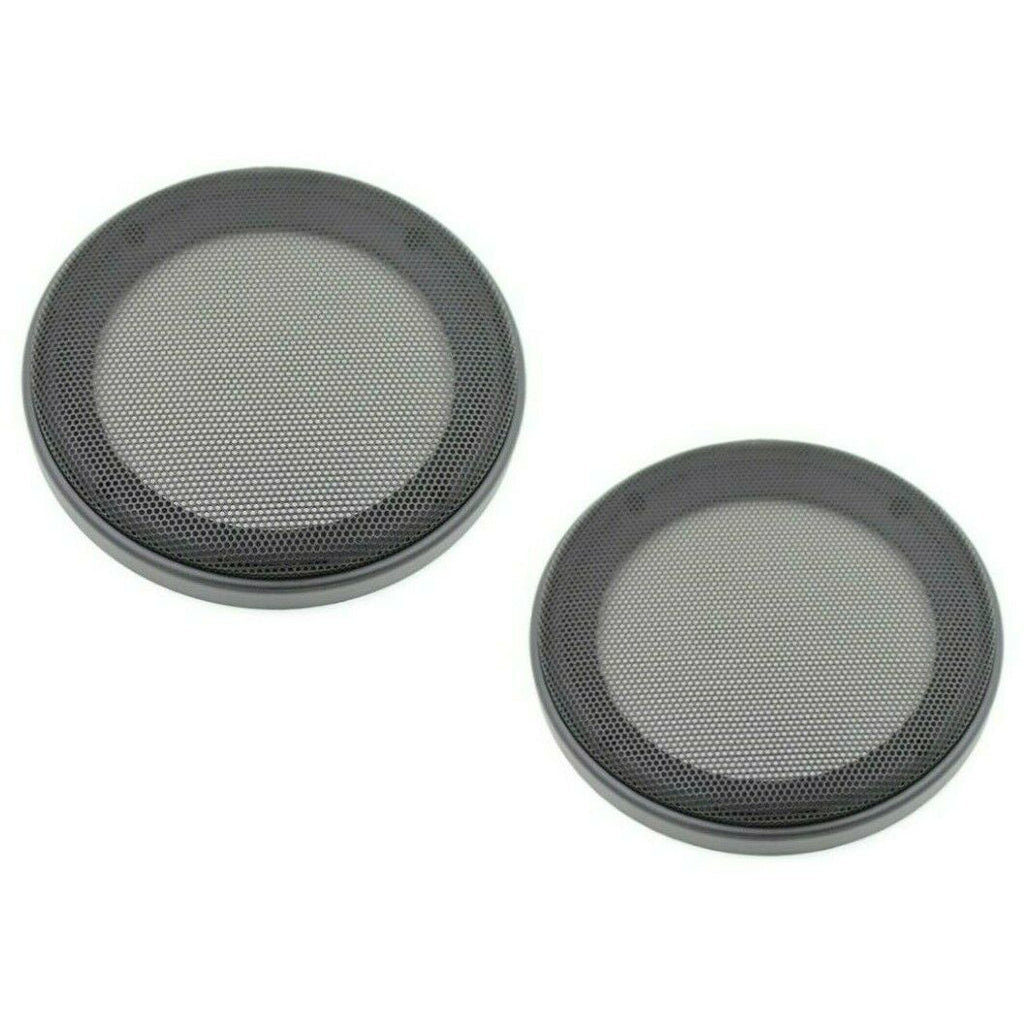 "(2) A/T Universal 6.5"" SPEAKER COAXIAL COMPONENT PROTECTIVE GRILLS COVERS"