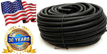 Load image into Gallery viewer, ALL SIZES 1 FT - 100 FOOT Split Wire Loom Polyethylene Tubing Marine Conduit LOT