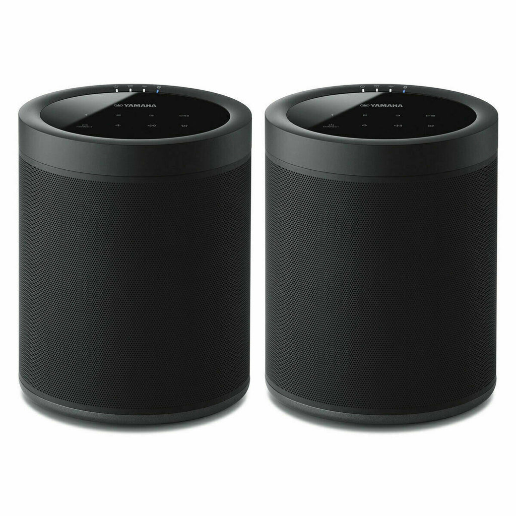 2 Yamaha WX-021BL MusicCast 20<br/> WX-021 wireless powered speakers with Wi-Fi, Bluetooth, and Apple AirPlay