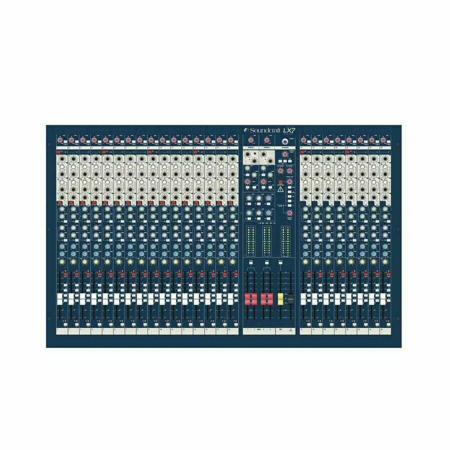 Soundcraft  LX7ii 24-Channel Recording Mixer