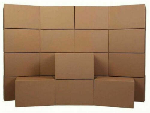 "Absolute 18""x 14""x12"" Pack of 10 PRO Grade Medium Moving Boxes Economy"