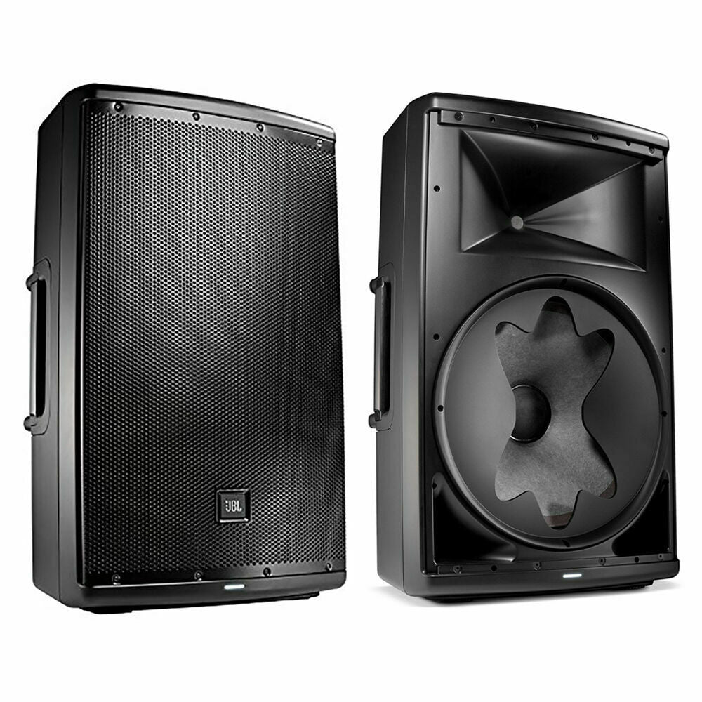 "JBL EON615 1000-Watt 15"" 2-Way Powered Speaker System Pair (open box)"