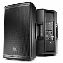 "Load image into Gallery viewer, JBL EON612 12"" 2-Way 1000-W Self-Powered Bluetooth DJ Club Event Speaker Pair"