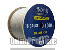 Load image into Gallery viewer, Absolute USA PROS161000 16 Gauge Speaker Wire