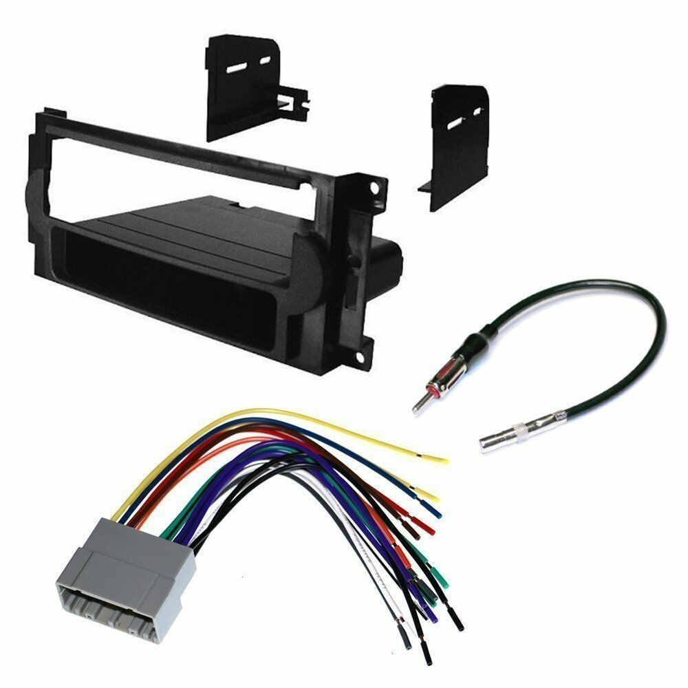 Absolute U.S.A Package<br>CHRYSLER 06-10 PT CRUISER CAR CD STEREO RECEIVER DASH INSTALL MOUNTING KIT