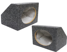 "Load image into Gallery viewer, Absolute 6x9PKG<BR/>MDF Angled Style 6""x9"" Gray Car Audio Speaker Box Enclosures"