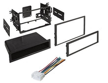 Load image into Gallery viewer, Car Radio Stereo CD Player Dash Install Mounting Trim Bezel Panel Kit + Harness -55