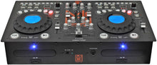 Load image into Gallery viewer, MR DJ CDMIX CDMIX700BT PROFESSIONAL DUAL CD PLAYER WITH MIXER, BLUETOOTH, USB