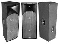 "Load image into Gallery viewer, Absolute PROS212 Dual 12"" 3-Way <br/>Professional Series 3000 Watts DJ PA PRO Audio Passive Speaker with Titanium Compression Driver for Live Sound, Karaoke, Bar, Church"