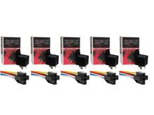 Load image into Gallery viewer, Absolute USA 12V 30/40 Amp SPDT Automotive Marine Bosch / Tyco Style 5 Pin Relay with Wires & Harness Socket (5 PACK)