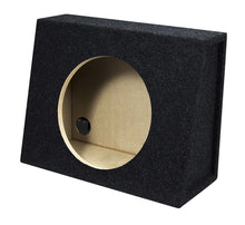 "Load image into Gallery viewer, Absolute USA SAG12<br/> Single 12"" Subwoofer Sealed Angled Truck or Hatchback Enclosure Empty Box"