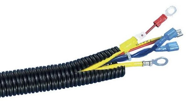 "MK Audio MSLT14 1000'<br/> 1000 feet 1/4"" split loom wire tubing hose cover auto home marine"