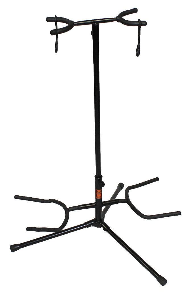 MR DJ GS400 DOUBLE GUITAR STAND WITH SMART LOCKING
