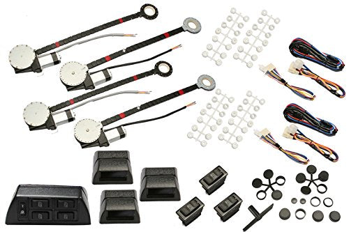 Absolute USA HW800 Power Window Conversion Kit