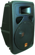 "Load image into Gallery viewer, Mr Dj PP3000+ Portable 15"" 2 Way Active Speaker Bluetooth, Sd, USB, FM LED & Karaoke Mic"