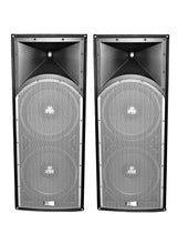 "Load image into Gallery viewer, 2 Absolute PROS212 Dual 12"" 3-Way<br/> Professional Series 3000 Watts DJ PA PRO Audio Passive Speaker with Titanium Compression Driver for Live Sound, Karaoke, Bar, Church"