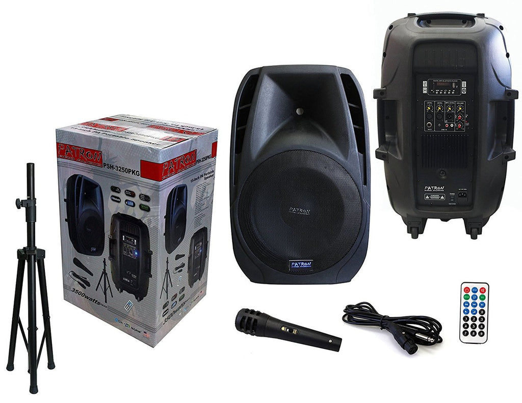 "PATRON PRO AUDIO PSH3250PKG 2 Way 15"" 3500 W Max Power Speaker"