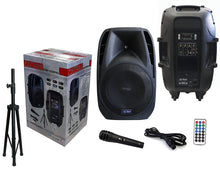 "Load image into Gallery viewer, PATRON PRO AUDIO PSH3250PKG 2 Way 15"" 3500 W Max Power Speaker"